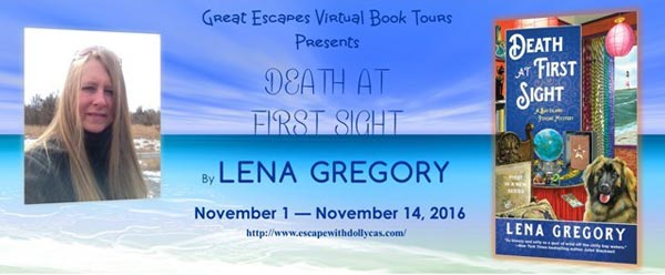 Death at First Sight by Lena Gregory - Banner