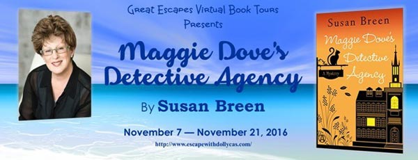 Maggie Dove's Detective Agency by Susan Breen - banner