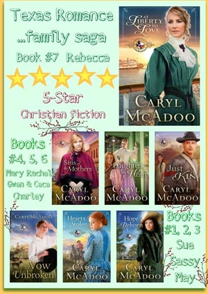 Texas Romance Series by Caryl McAdoo