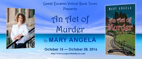 An Act of Murder by Mary Angela: book tour banner