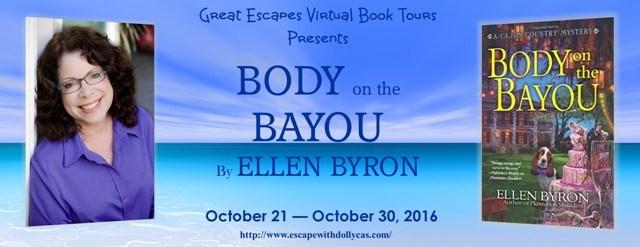 Body on the Bayou by Ellen Byron - Banner