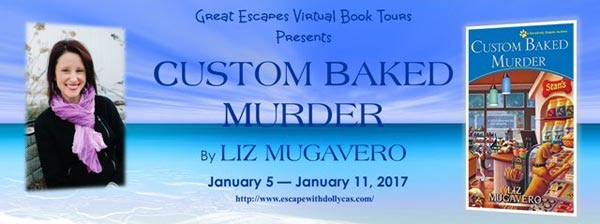 Custom Baked Murder by Liz Mugavero - banner