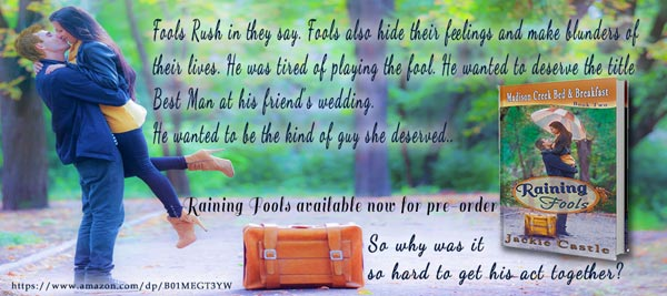 Raining Fools by Jackie Castle - Banner