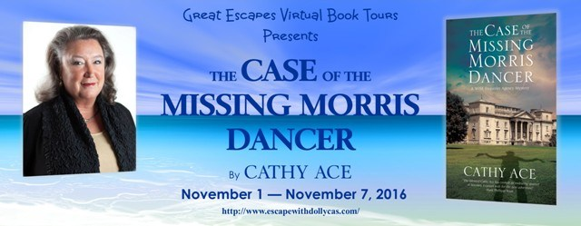 Case of the Missing Morris Dancer- Escape With Dollycas Virtual Book Tour