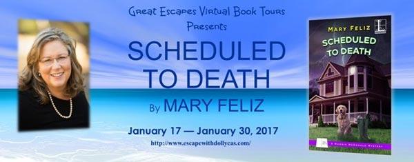 Scheduled to Death - Banner