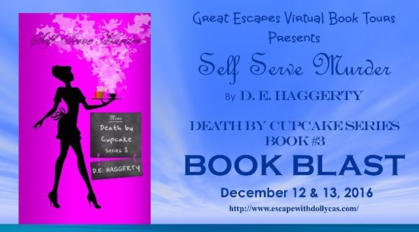 Self Serve Murder by D.E. Haggerty - banner