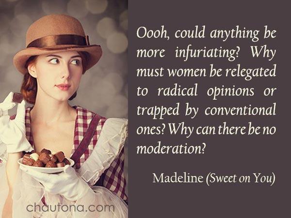 Meddlin Madeline Sweet on You - banner