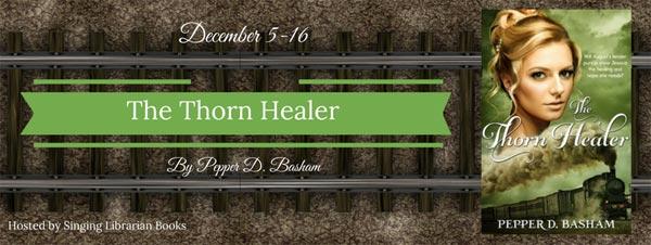 The Thorn Healer by Pepper Basham - banner