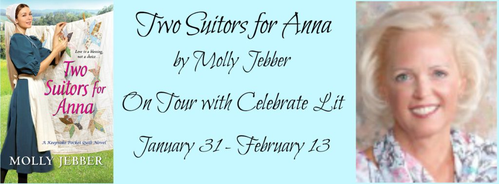 Two Suitors for Anna-Molly Jebber- Celebrate Lit Tour