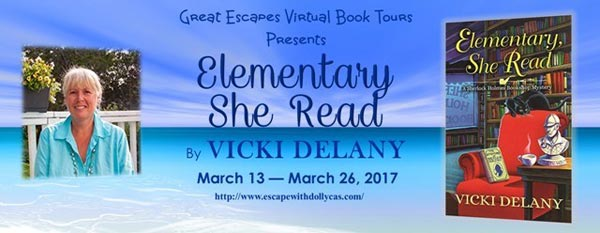 Elementary She Read by Vicki Delany - banner