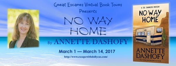 No Way Home by Annetted Dashofy - banner