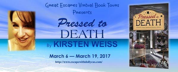 Pressed to Death by Kristen Weiss - banner