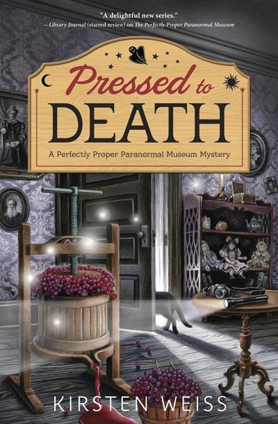 Pressed to Death by Kristen Weiss