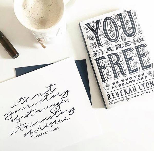 You are Free by Rebekah Lyons
