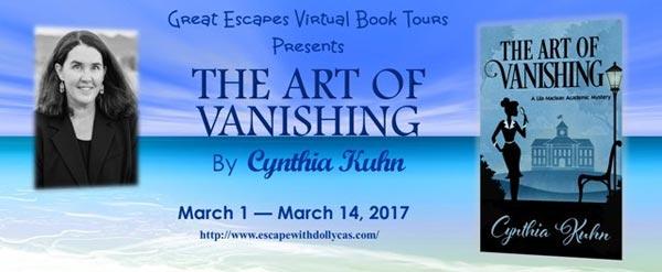 The Art of Vanishing by Cynthia Kuhn - banner