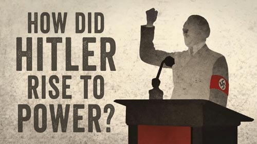 20th century lessons - How did Hitler rise to power?