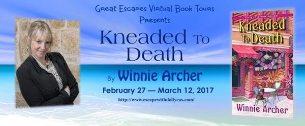 Kneaded to Death by Winnie Archer - banner