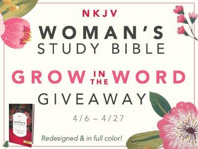 The Study Bible for Women: NKJV Edition banner