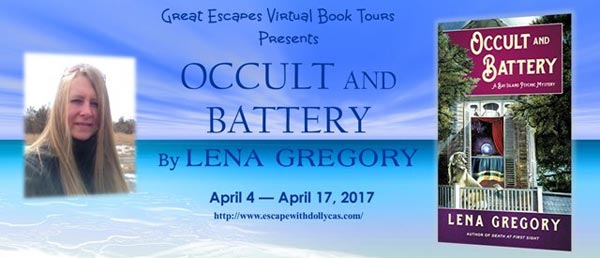 Occult and Battery (A Bay Island Psychic Mystery) - banner