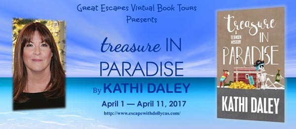 Treasure in Paradise (Tj Jensen Mystery)