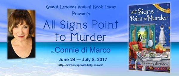 All Signs Point to Murder (A Zodiac Mystery) - banner