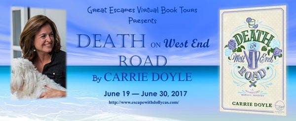 Death on West End Road: A Hamptons Murder Mystery - banner