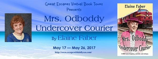 Mrs. Odboddy: Undercover Courier: A WWII tale of mystery, mischief, and mishaps. (Mrs. Odboddy Mysteries Book 2) - banner