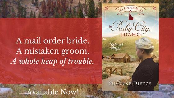 My Heart Belongs in Ruby City, Idaho: Rebecca's Plight - banner