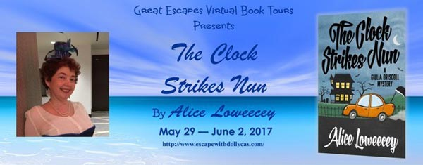 The Clock Strikes Nun (A Giulia Driscoll Mystery) (Volume 4) - banner