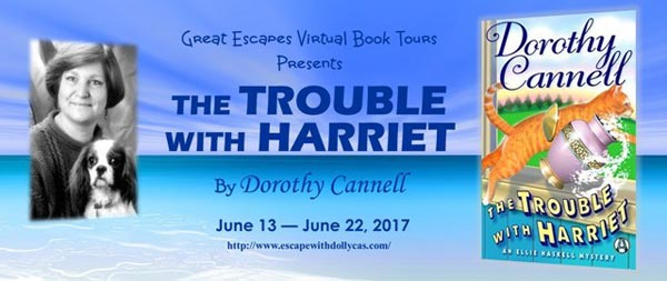 The Trouble with Harriet (Ellie Haskell Mysteries) - banner