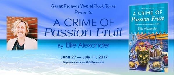 Crime of Passion Fruit- Great Escape Book Tour
