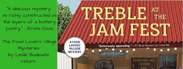 Treble at the Jam Fest (A Food Lovers' Village Mystery) - banner