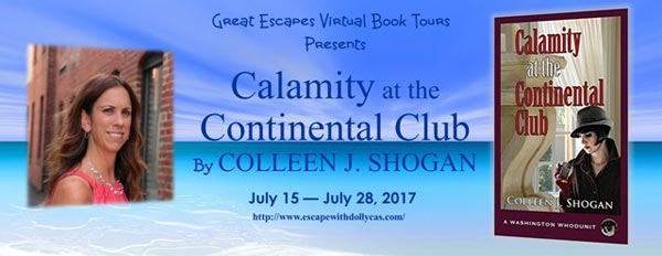 Calamity at the Continental Club (Washington Whodunit)