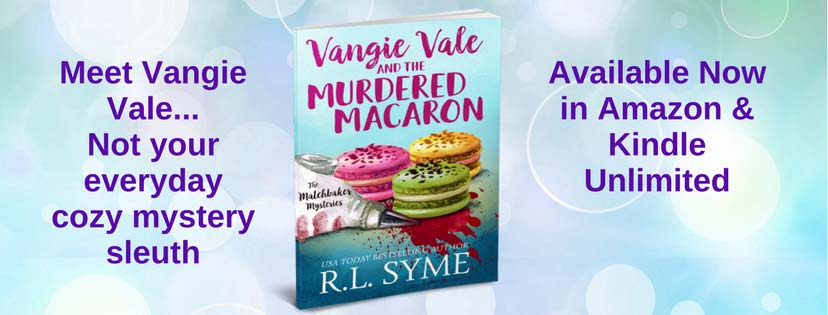 Vangie Vale and the Murdered Macaron (The Matchbaker Mysteries Book 1) - banner