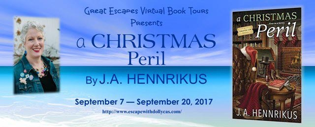 A Christmas Peril (A Theater Cop Mystery) by J. A. Hennrikus