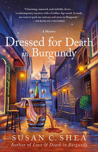Dressed for Death in Burgundy: A French Village Mystery (The French Village Mysteries)