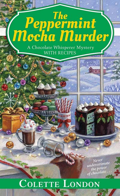 The Peppermint Mocha Murder (A Chocolate Whisperer Mystery Book 5)