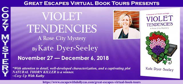 Violet Tendencies (A Rose City Mystery) - Banner image